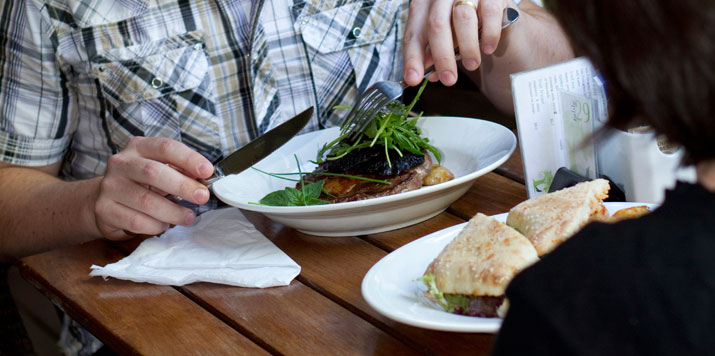 Toowoomba Restaurants (Park House Cafe)